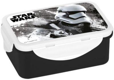 Star Wars Stormtrooper Brotdose groß, 4-fach Clipverschluss, mit Einsatz