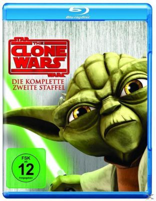 Star Wars: The Clone Wars - Die komplette 2. Staffel