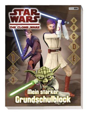 Star Wars The Clone Wars Grundschulblock -  pdf epub