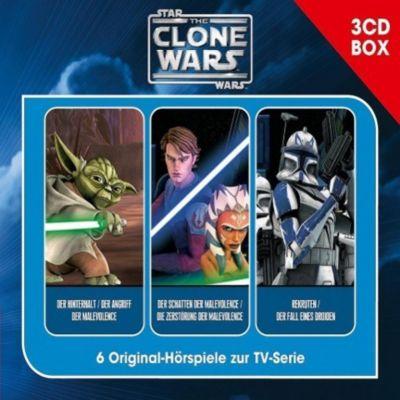 Star Wars - The Clone Wars - Hörspielbox Vol. 1 (3CDs), The Clone Wars