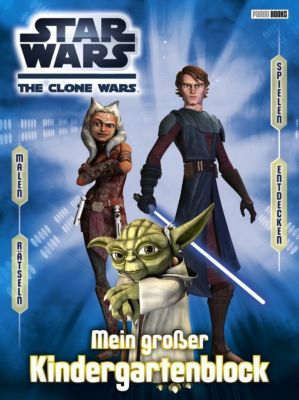 Star Wars The Clone Wars Kindergartenblock -  pdf epub