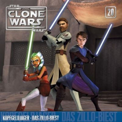 Star Wars - The Clone Wars: Kopfgeldjäger / Das Zillo Biest, The Clone Wars