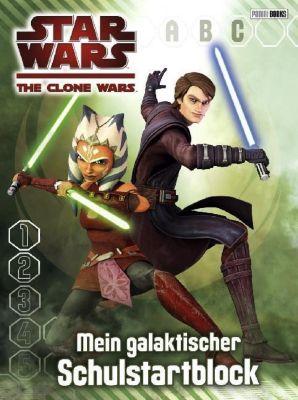 Star Wars The Clone Wars - Mein galaktischer Schulstartblock