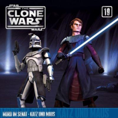 Star Wars, The Clone Wars - Mord im Senat / Katz und Maus, 1 Audio-CD, The Clone Wars