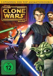 Star Wars: The Clone Wars - Staffel 1, Vol. 1, George Lucas, Scott Murphy, Steven Melching, Henry Gilroy, George Krstic, Paul Dini, Dave Filoni, Julie Siege, Bernadette McNamara