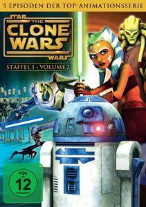 Star Wars: The Clone Wars - Staffel 1, Vol. 2, George Lucas, Scott Murphy, Steven Melching, Henry Gilroy, George Krstic, Paul Dini, Dave Filoni, Julie Siege, Bernadette McNamara
