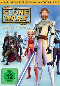 Star Wars: The Clone Wars - Staffel 1, Vol. 3, George Lucas, Scott Murphy, Steven Melching, Henry Gilroy, George Krstic, Paul Dini, Dave Filoni, Julie Siege, Bernadette McNamara