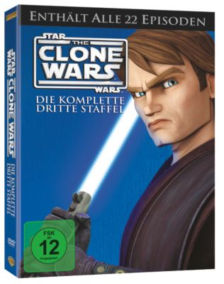 Star Wars: The Clone Wars - Staffel 3, George Lucas, Scott Murphy, Steven Melching, Henry Gilroy, George Krstic, Paul Dini, Dave Filoni, Julie Siege, Bernadette McNamara