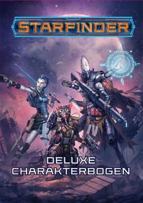 Starfinder Deluxe-Charakterbogen - Jason Buhlman  