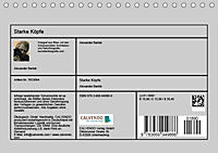 Starke Köpfe (Tischkalender 2019 DIN A5 quer) - Produktdetailbild 13