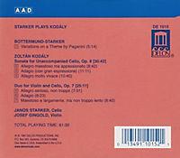 Starker Plays Kodaly - Produktdetailbild 1