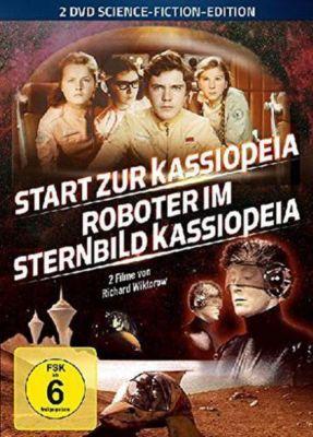 Start zur Kassiopeia / Roboter im Sternbild Kassiopeia
