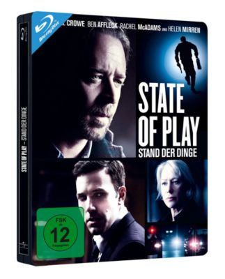 State of Play - Stand der Dinge (Steelbook), Ben Affleck,helen Mirren Russell Crowe