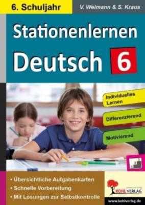 Stationenlernen Deutsch / Klasse 6