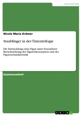 Staubfinger in der Tintentrilogie, Nicole Maria Krämer