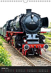 Steam Locomotive 01 150 / UK-Version (Wall Calendar 2019 DIN A4 Portrait) - Produktdetailbild 6