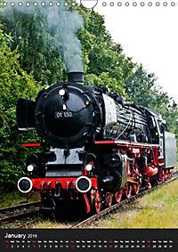 Steam Locomotive 01 150 / UK-Version (Wall Calendar 2019 DIN A4 Portrait) - Produktdetailbild 1