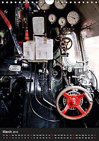 Steam Locomotive 01 150 / UK-Version (Wall Calendar 2019 DIN A4 Portrait) - Produktdetailbild 3