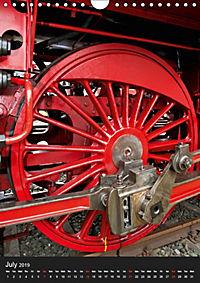 Steam Locomotive 01 150 / UK-Version (Wall Calendar 2019 DIN A4 Portrait) - Produktdetailbild 7