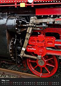 Steam Locomotive 01 150 / UK-Version (Wall Calendar 2019 DIN A4 Portrait) - Produktdetailbild 5