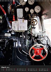 Steam Locomotive 01 150 / UK-Version (Wall Calendar 2019 DIN A3 Portrait) - Produktdetailbild 3