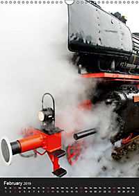 Steam Locomotive 01 150 / UK-Version (Wall Calendar 2019 DIN A3 Portrait) - Produktdetailbild 2