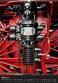 Steam Locomotive 01 150 / UK-Version (Wall Calendar 2019 DIN A3 Portrait) - Produktdetailbild 4