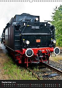 Steam Locomotive 01 150 / UK-Version (Wall Calendar 2019 DIN A3 Portrait) - Produktdetailbild 9
