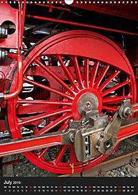 Steam Locomotive 01 150 / UK-Version (Wall Calendar 2019 DIN A3 Portrait) - Produktdetailbild 7