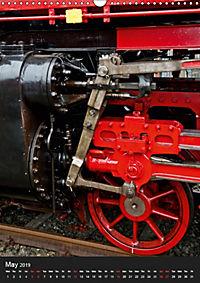 Steam Locomotive 01 150 / UK-Version (Wall Calendar 2019 DIN A3 Portrait) - Produktdetailbild 5