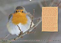Steckbriefe einheimischer Vögel (Wandkalender 2019 DIN A2 quer) - Produktdetailbild 2