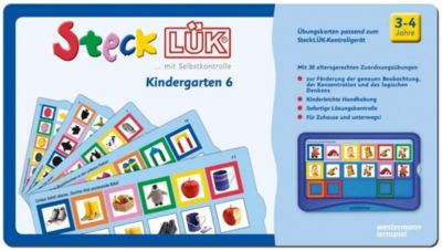 SteckLÜK: .7 Kindergarten 6: Alter 3 - 4 (blau) -  pdf epub