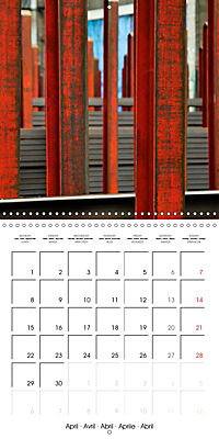 STEEL GRAFFITI (Wall Calendar 2019 300 × 300 mm Square) - Produktdetailbild 4