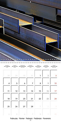 STEEL GRAFFITI (Wall Calendar 2019 300 × 300 mm Square) - Produktdetailbild 2