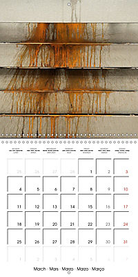 STEEL GRAFFITI (Wall Calendar 2019 300 × 300 mm Square) - Produktdetailbild 3