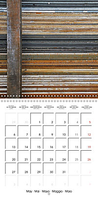 STEEL GRAFFITI (Wall Calendar 2019 300 × 300 mm Square) - Produktdetailbild 5