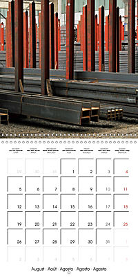 STEEL GRAFFITI (Wall Calendar 2019 300 × 300 mm Square) - Produktdetailbild 8