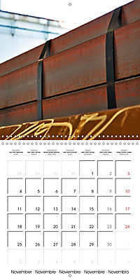 STEEL GRAFFITI (Wall Calendar 2019 300 × 300 mm Square) - Produktdetailbild 11