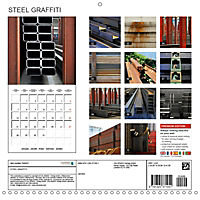 STEEL GRAFFITI (Wall Calendar 2019 300 × 300 mm Square) - Produktdetailbild 13