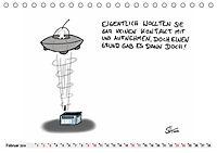 Steffen Huber Cartoons - 2019 (Tischkalender 2019 DIN A5 quer) - Produktdetailbild 2