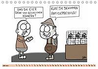 Steffen Huber Cartoons - 2019 (Tischkalender 2019 DIN A5 quer) - Produktdetailbild 7