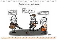 Steffen Huber Cartoons - 2019 (Tischkalender 2019 DIN A5 quer) - Produktdetailbild 9