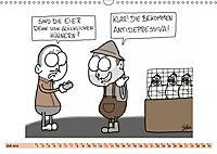 Steffen Huber Cartoons - 2019 (Wandkalender 2019 DIN A3 quer) - Produktdetailbild 7