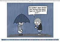 Steffen Huber Cartoons - 2019 (Wandkalender 2019 DIN A3 quer) - Produktdetailbild 4