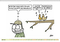 Steffen Huber Cartoons - 2019 (Wandkalender 2019 DIN A3 quer) - Produktdetailbild 6