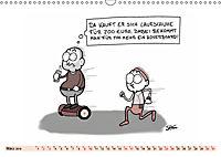 Steffen Huber Cartoons - 2019 (Wandkalender 2019 DIN A3 quer) - Produktdetailbild 3