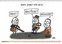 Steffen Huber Cartoons - 2019 (Wandkalender 2019 DIN A3 quer) - Produktdetailbild 9