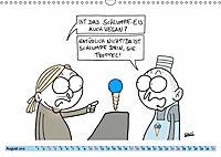 Steffen Huber Cartoons - 2019 (Wandkalender 2019 DIN A3 quer) - Produktdetailbild 8