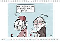 Steffen Huber Cartoons - 2019 (Wandkalender 2019 DIN A4 quer) - Produktdetailbild 5