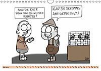 Steffen Huber Cartoons - 2019 (Wandkalender 2019 DIN A4 quer) - Produktdetailbild 7